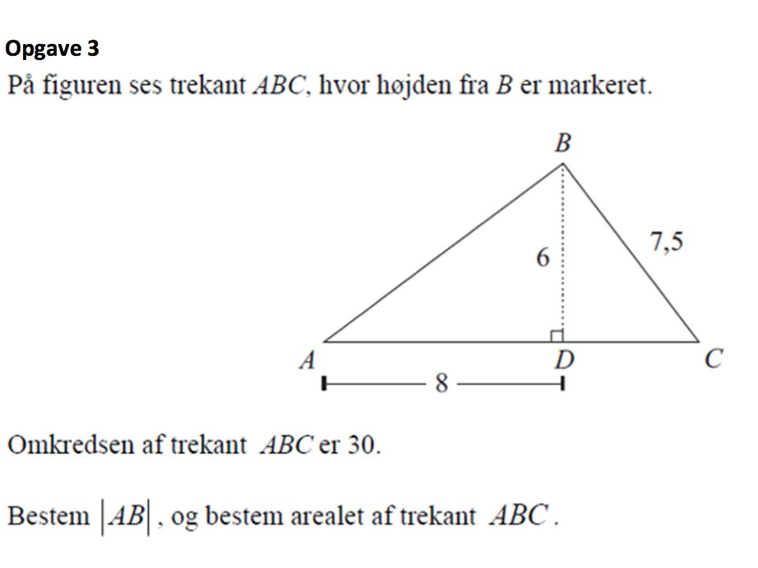 søger trekant