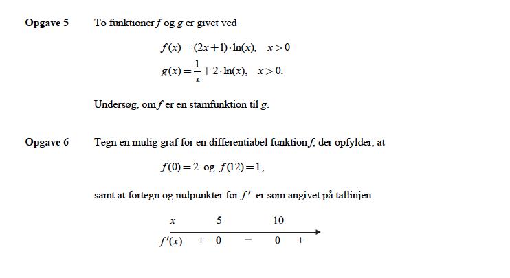 matematik på f niveau